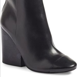 Tory Burch Grove Block Heel Boot — Size 8